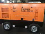 KAISHAN KSCY-550/13携帯用Cumminsのディーゼル機関ねじ空気圧縮機