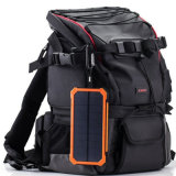 LEDの懐中電燈を持つ携帯用移動式太陽エネルギーバンクの充電器20000mAh
