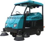 Крупноразмерная езда на машине метельщика дороги метельщика пола промышленной управляя
