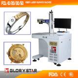 Glorystarの小型の空気冷却の金属のファイバーレーザーのマーキング機械