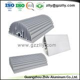 Dissipatore di calore di alluminio dell'espulsione della parte di metallo del materiale da costruzione