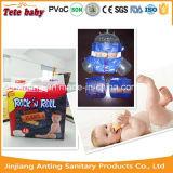 Les couches-culottes de vente bonnes de bébé de marque de distributeur, bébé halète la couche-culotte du fournisseur de la Chine