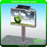 Cartelera al aire libre publicitaria solar de la carretera de la visualización