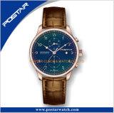 Relógio Multifunction impermeável da alta qualidade de quartzo suíço do cronógrafo