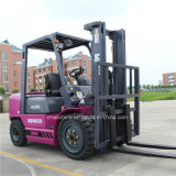 Dieselgabelstapler 3ton mit 2 Behälter-dem Mast des Stadiums-3m hergestellt in China