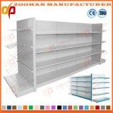 Supermarke (Zhs336)のための平背のパネルのコーナーの壁の棚の単位