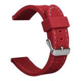 فاخر حارّ أحمر ليّنة سليكوون ساعة إستبدال صنع وفقا لطلب الزّبون نطاق لأنّ [سمسونغ] [س3]