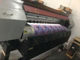 Impresión del papel de transferencia de la camiseta de Xuli los 3.2m con la cabeza de impresora de 4PC Epson 5113