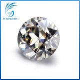 보석을%s 우수한 오래된 유럽인 커트 2cts 합성 Moissanite 다이아몬드