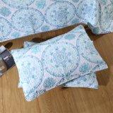 卸し売り柔らかさは印刷された明白なキルトおよび枕キルトセットをカスタマイズした
