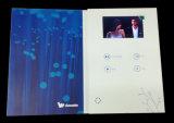 Карточка изготовленный на заказ экрана LCD видео- для рекламировать автомобиля