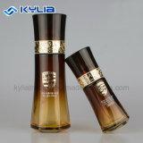 كوريا أسلوب [130مل] رفاهية زجاجة زجاجيّة كهرمانيّة لأنّ غسول
