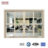 상업적인 큰 유리 미닫이 문, 알루미늄 안뜰 문을 미끄러지는 백색