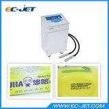 Código de barras continuo de la impresión de la impresora de inyección de tinta de la Dual-Pista para el rectángulo cosmético (EC-JET910)