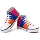 Form-Freizeit-heiße verkaufende freie Probe Hoch-Schnitt Segeltuch-Schuh