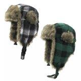 Sombrero de invierno de felpa en el oído