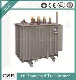 Экспорт 10kVA фабрики трансформатор польностью загерметизированного масла 3 участков погруженный