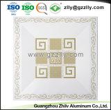 Fabricant de matériaux de construction dalle de plafond en aluminium avec la norme ISO 9001