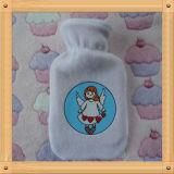 熱湯びんのための天使の文字パターンプラシ天カバー