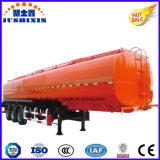 Jsxt 20-60cbm 3el eje de combustible de aleación de aluminio/gasolina/Gasolina/Gas Oil Tanker