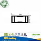 Загородки луча загородки WPC напольные декоративные проектированные пластичные деревянные составные