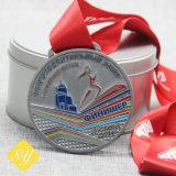 カスタマイズされる連続したマラソンのSoccorの野球OEMはメダルを遊ばす