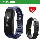 Le moniteur du rythme cardiaque en temps réel IP67 imperméabilisent le bracelet intelligent