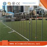 2.1X1.1m Barricada Temporária / Galvanizado Round Tube Multidão Controlar Barricada