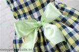 Vêtements verts frais de crabot de Bowtie de maille de réseau de modèle