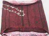 Связанная грелка шеи вспомогательного оборудования способа шарфа Burgandy для девушок