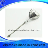 Aço inoxidável de alta qualidade em forma de coração infusor de chá de aço inoxidável