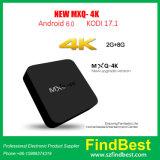 Mxq-4K de androïde Doos Rk3229 1GB+8GB BT 4.0 2.4G WiFi van TV