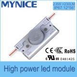 Moduli di alto potere 3535 2.8W Sidelighting LED per la casella chiara a doppia faccia
