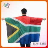 경쟁은 부채로 부친다 두건 (HY096)를 가진 바디 깃발 케이프를