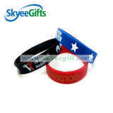 Wristband do silicone do fornecedor do bracelete do silicone de China
