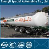 40m3 Heavy Duty remolque de transporte de gas 40000L del depósito de gas semi remolque 20ton del depósito de gas