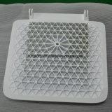 Partie personnalisée CNC de la plaque en treillis en ABS (acrylonitrile-butadiène-styrène)