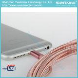 iPhone 7을%s USB 비용을 부과 케이블에 1m 나일론 땋는 번개
