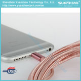 молния нейлона 1m Braided к зарядному кабелю USB на iPhone 7