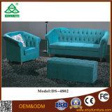 New Design Three Seater Sofa Wooden Hotel Cadeira de sala de jantar