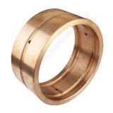 CNC de cobre/de bronze da elevada precisão que faz à máquina as peças personalizadas China