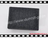 Stilvolles Gewebe-materieller Bifold Mann-Kartenhalter mit freiem Firmenzeichen