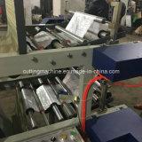 Plastiktasche, die Maschine vom flachen Beutel in der Rollenmaschine herstellt