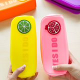 Студент' S прибора Пользовательский логотип фруктов водонепроницаемой силиконовой случае пальчикового типа