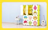 Plastic Garderobe van de Jonge geitjes van de Slaapkamer van het Meubilair van het Huis van de opslag de Draagbare