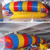Gota de la catapulta del agua, lanzamiento inflable del agua, juguetes inflables del juego del agua