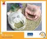 Chapéu de malha de bebê pequeno bebê