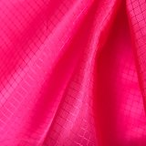 20d*30d Diamond-Type Nylon tejido Jacquard de celosía para prenda exterior