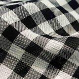 Garn gefärbtes Polyester-Gewebe für Frauen-Kleid-Fußleisten-Mantel-Kleid