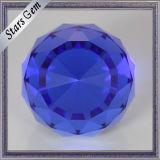Il colore blu unico rotondo sfaccetta i branelli della sfera di vetro del fronte K9 per i mestieri
